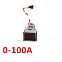 Индикатор амперметра красный