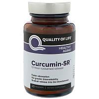 Куркумин, Quality of Life Labs, 125 мг, 30 капсул, фото 1