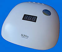 Гибридная светодиодная UV/LED лампа SunUV-4s 48 вт (Сан ван ) с защитой от перегорания светодиодов .
