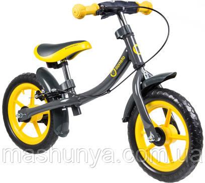 Беговел - велобег Lionelo Dan Plus 12 дюймов колеса со шлемом