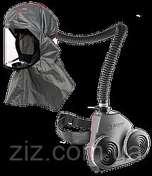 FH2 & Duraflow Шлем с респиратором позитивного давления