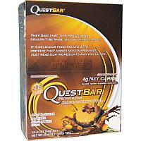 Quest Nutrition, Questbar Protein Bar, Chocolate Peanut Butter, 12 Bars, 2.1 oz (60 g) Each