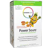 Витамины для детей, Multivitamin & Multimineral, Rainbow Light, 30 пакетиков