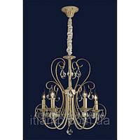 Люстра свечи Ris-x9648-5белое золото