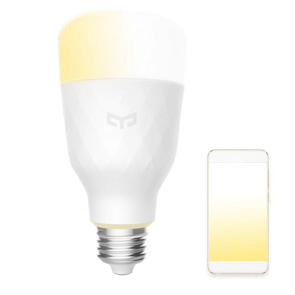 Xiaomi Yeelight YLDP05YL E27 10W Теплый белый для Daywhite Smart LED Bulb Wifi App Control AC100-240V 1TopShop