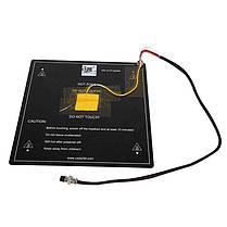 Creality 3D® Aluminium 12V MK3 300 * 300 * 3 мм плата для термозащиты с установленным кабелем для 3D-принтера 1TopShop, фото 2