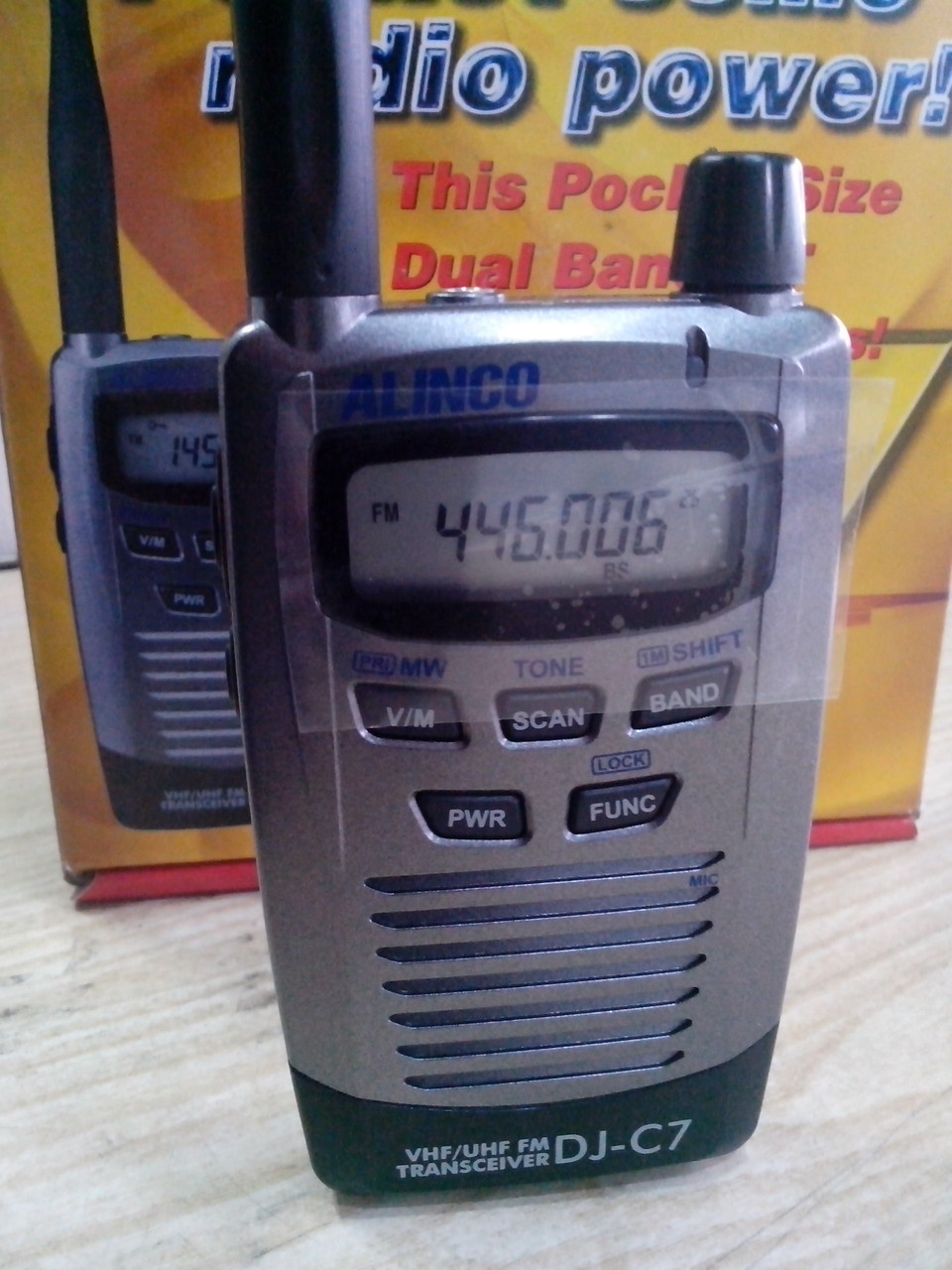 Рация, радиостанция Alinco DJ-C7T