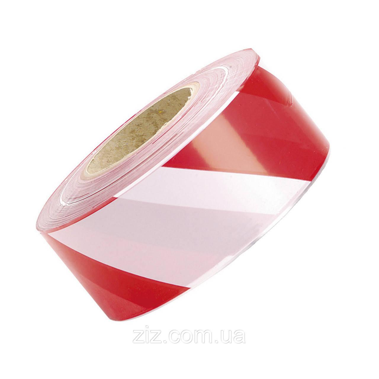 Сигнальна стрічка Біло-червона