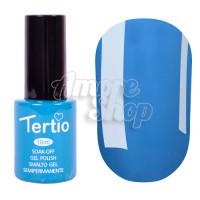 Гель-лак Tertio №135 (темный бирюзовый, эмаль), 10 мл