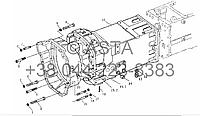 Трансмиссия на YTO-X704