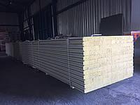 Сендвич панель стеновая базальт 120мм