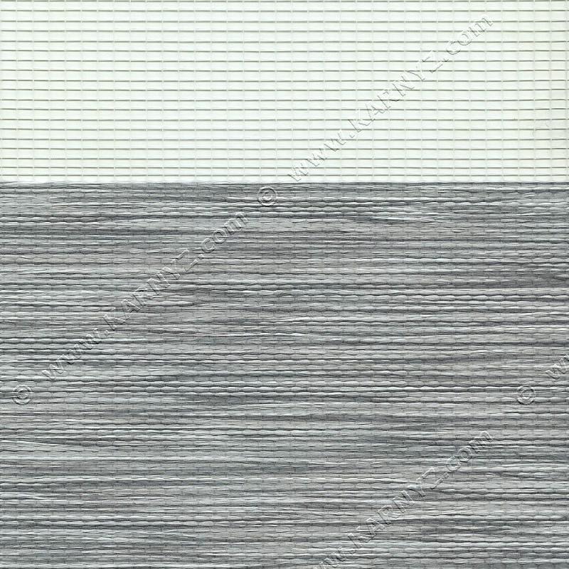 Ролета День-Ночь Роскошь B-104 серый