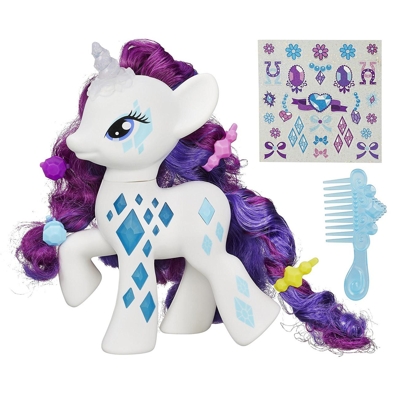 Май Литл Пони Светящаяся Модница Рарити Гламурный блеск My Little Pony Friendship Magic Glamour Glow Rarity
