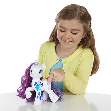 Май Литл Пони Светящаяся Модница Рарити Гламурный блеск My Little Pony Friendship Magic Glamour Glow Rarity, фото 2