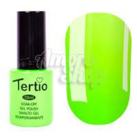 Гель-лак Tertio №138 (кислотный салатовый, эмаль), 10 мл