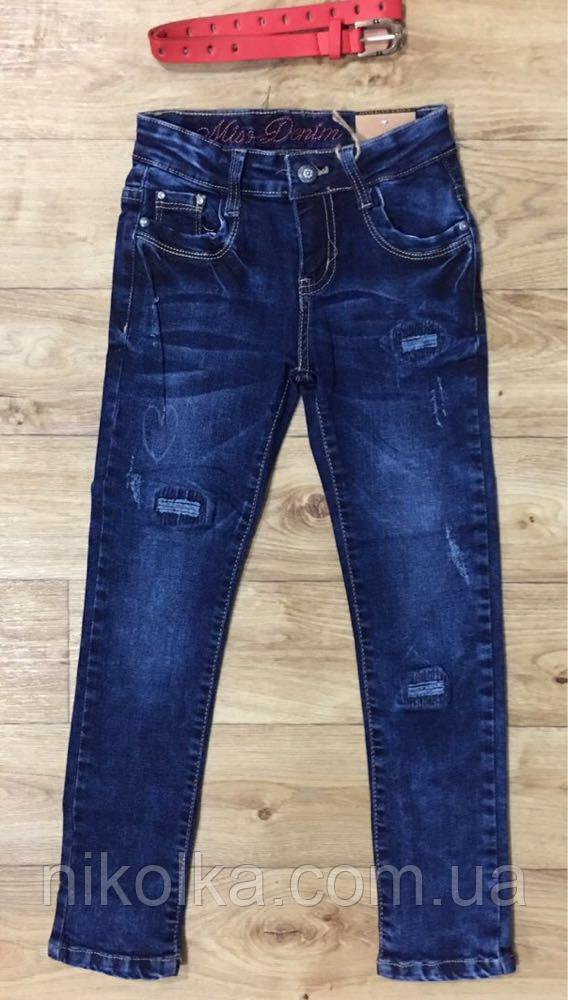 Джинсові брюки для дівчаток оптом, Grace ,134-164 рр., Арт. G71725