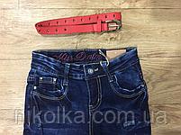 Джинсові брюки для дівчаток оптом, Grace ,134-164 рр., Арт. G71725, фото 2