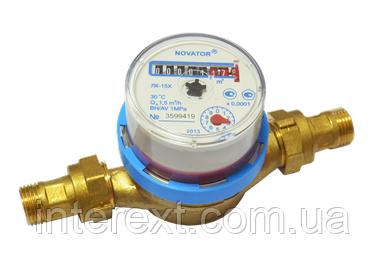 Счётчик холодной воды Новатор (Украина) ЛК-15Х Ду15