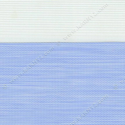 Рулонные шторы День-Ночь Роскошь B-119 голубой, фото 2