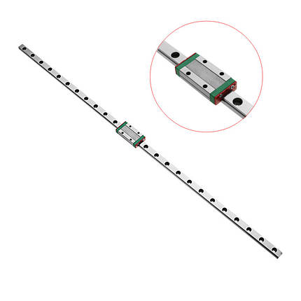 ЛинейныйнаправляющийрельсMachifit1000мм MGN9 Линейный направляющий рельс MGN9H с ЧПУ Инструмент 1TopShop, фото 2