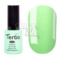 Гель-лак Tertio №140 (бледный мятный, эмаль), 10 мл