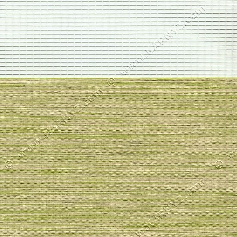 Рулонные шторы День-Ночь Роскошь B-108 салатовый
