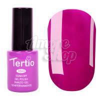 Гель-лак Tertio №142 (сиренево-розовый, эмаль), 10 мл