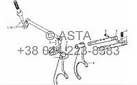Механизм переключения передач на YTO-X704