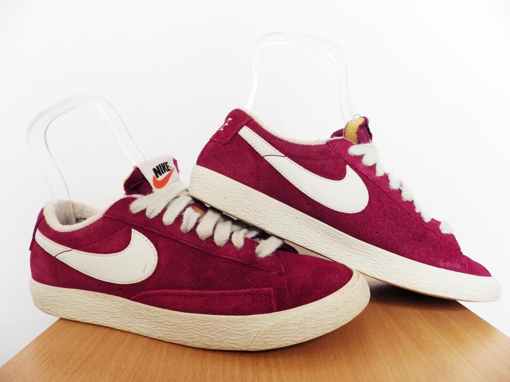 5af957588708 Кроссовки Nike Blazer 100% ОРИГИНАЛ р-р 38 (24см) (Б У, СТОК) original  замшевые