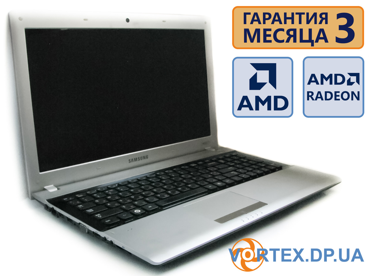 Ноутбук Samsung RV513 15.6 (1366x768) / AMD E450 (2x1.66GHz) / RAM 3Gb