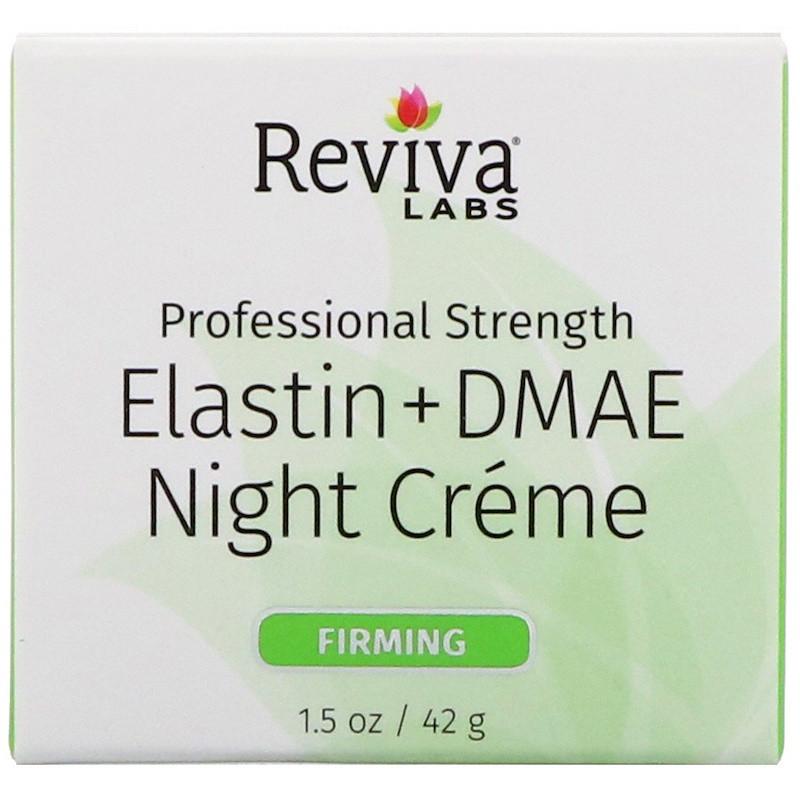 Укрепляющий ночной крем для лица и декольте, Reviva Labs, (42 г)