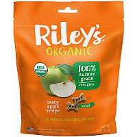 Riley's Organics, Угощение для собак, Маленькая кость, Яблоко, 5 унций (142 г)