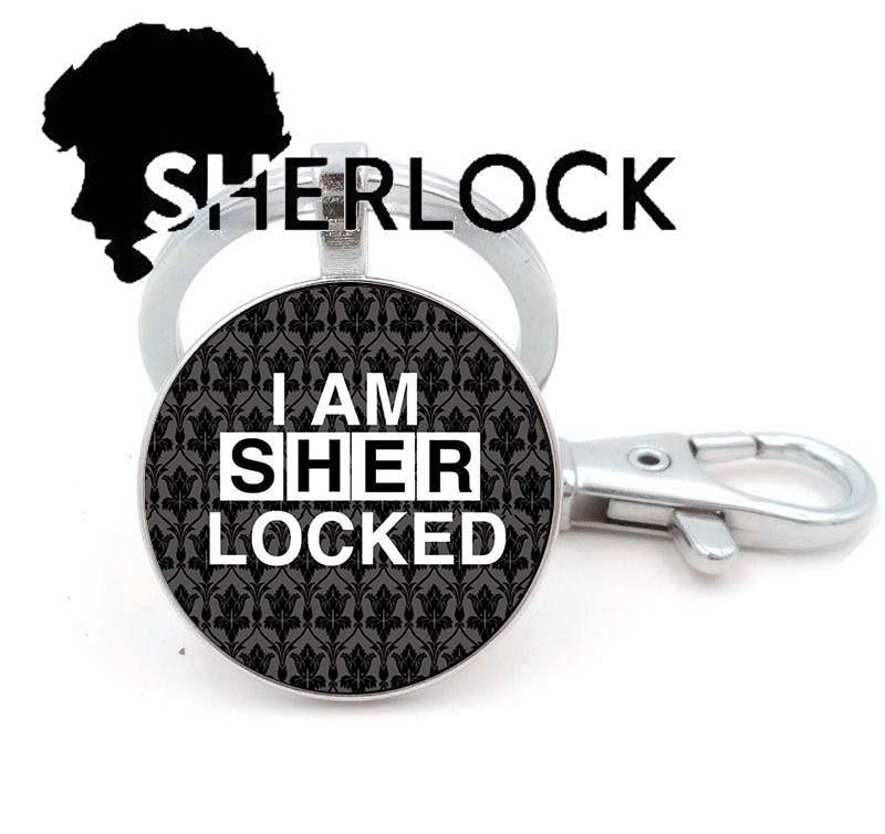 Брелок Sherlock Holmes Шерлок Холмс I am Sherlocked