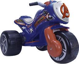 Электромотоцикл трехколесный детский  Avengers 6V  Injusa 72977