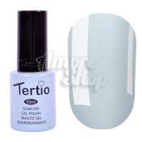 Гель-лак Tertio №146 (бледный серо-зеленый, эмаль), 10 мл