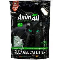 AnimAll (АнимАлл, ЭнимАлл) Зеленый изумруд, силикагелевый наполнитель для кошек 10.5 л