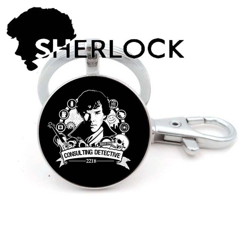 Брелок Sherlock Holmes Шерлок Холмс Консультирующий Детектив