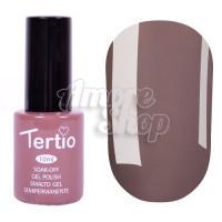 Гель-лак Tertio №147 (бледный серо-коричневый, эмаль), 10 мл