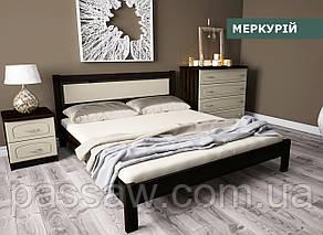 """Кровать деревянная """"Меркурий"""" 0,9 ольха"""