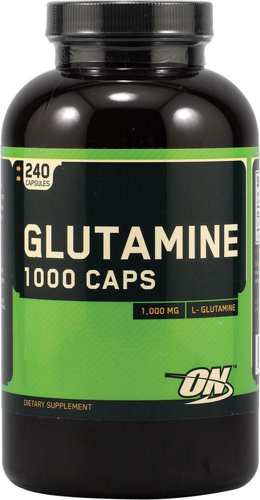 Optimum Nutrition Glutamine 1000 caps 240 caps