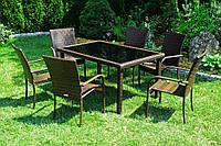 Набор мебели SG-SANTOS Sapphire, стол + 6 стульев