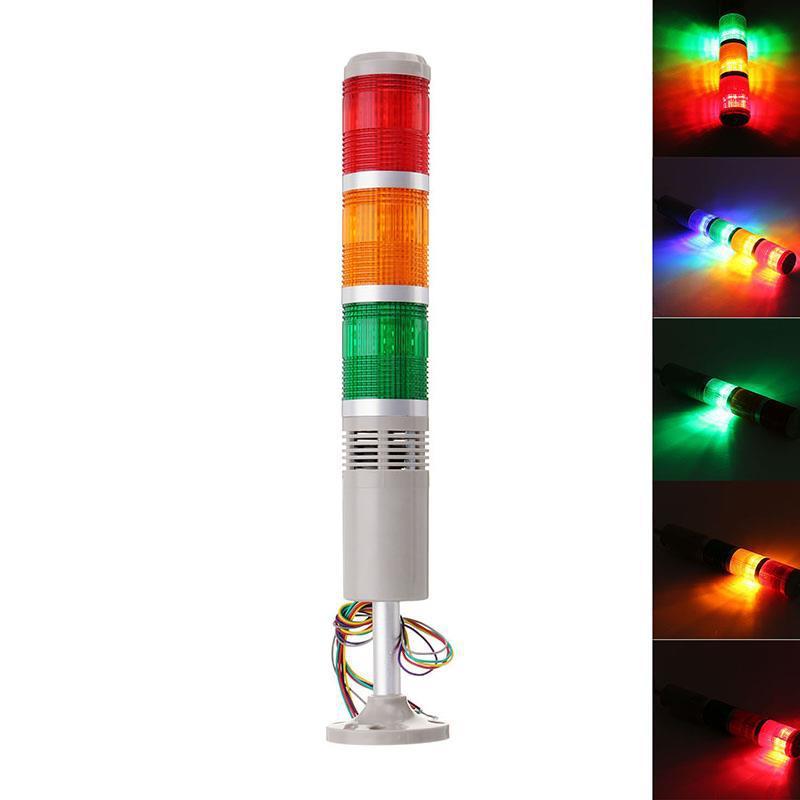 Machifit TB50-3T-DJ CNC Предупреждающие световые сигналы машины LED Индикатор сигнала тревоги с сигналом тревоги - 1TopShop