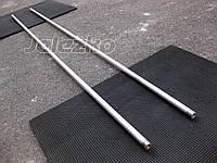 Перекладина гимнастическая 2.4 м, хромированная (турник в спортзал, во двор, на улицу) поперечина Workout, фото 1