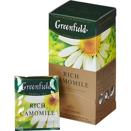 Чай Гринфилд Rich Camomile 25 пакетиков