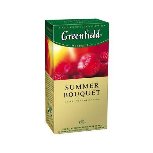 """Чай """"Summer Bouquet"""" 25 пакетиков """"Гринфилд"""""""