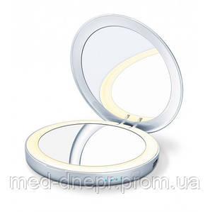 Косметическое зеркало с подсветкой и аккумулятором beurer BS 39