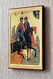 """Икона """"Святые благоверные князья Борис и Глеб"""" (аналойный размер), фото 3"""