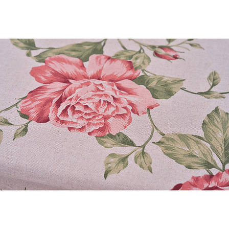 Комплект тюли Large pink rose, фото 2