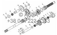 Дополнительная передача - повышение и понижение передач (опция) на YTO-X704