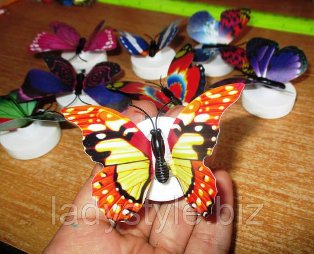 магнит на холодильник сувенир ночник бабочка купить